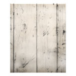 WHITE-WASHED WOOD TEXTURED GRAIN BACKGROUNDS WALLP PERSONALIZED FLYER