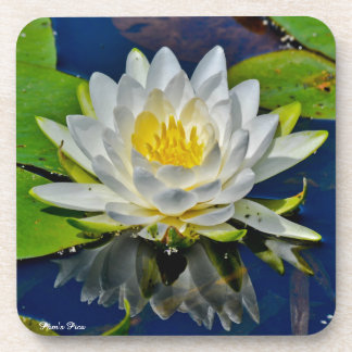 White Water Lily Coaster