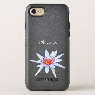 White Water Lily Lotus Flower Namaste Purity OtterBox Symmetry iPhone 7 Case