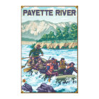 White Water Rafting - Payette River, Idaho Canvas Print