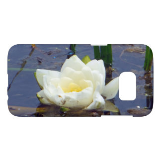 White Water Rose Samsung Galaxy S7 Case
