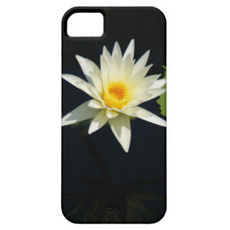 White Waterlily phone case
