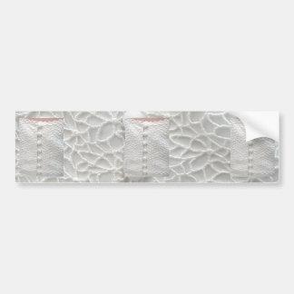 White Wedding Gown Bumper Sticker - Customizable Car Bumper Sticker