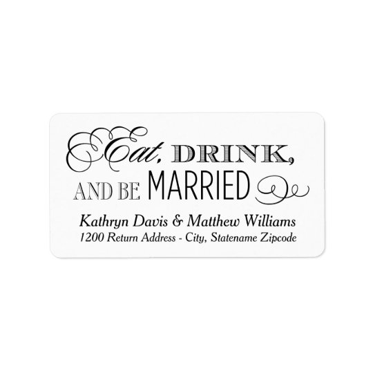 White Wedding Return | Eat Drink and Be Married