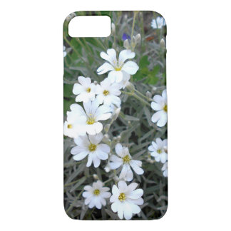 White Wildflowers iPhone 8/7 Case