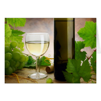 White wine Card