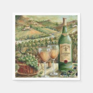 White Wine Lovers Napkin