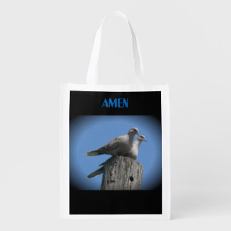 White wing dove tote pray for peace