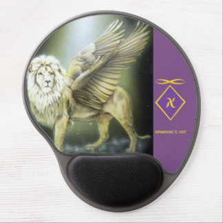 White Winged Lion Mousepad