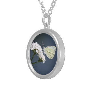 White Winged Wonder Butterfly Necklace