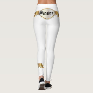White Winning Leggings