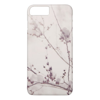 White Winter Romantic. Flowers Covered in Snow iPhone 8 Plus/7 Plus Case