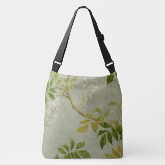 White Wisteria Crossbody Bag
