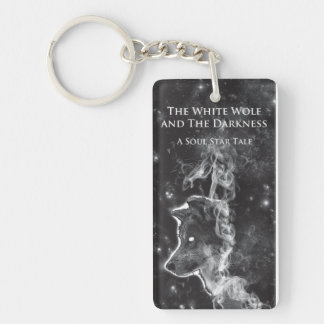 White Wolf and The Darkness keychain