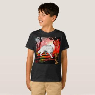 White wolf - arctic wolf - american wolf T-Shirt