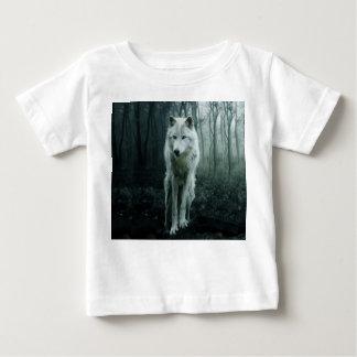 White wolf - arctic wolf - snow wolf baby T-Shirt