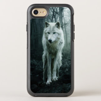 White wolf - arctic wolf - snow wolf OtterBox symmetry iPhone 8/7 case