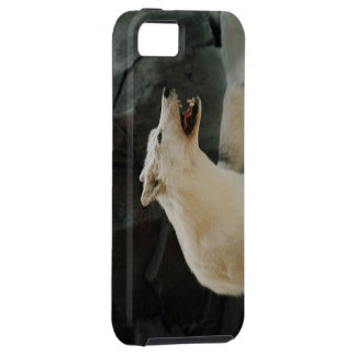 White Wolf iPhone 5 Cases