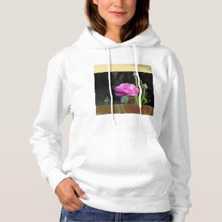 White women's hoodie
