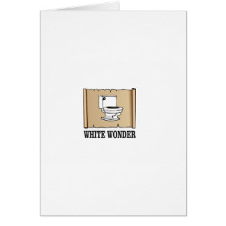 white wonder john card