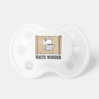white wonder john pacifier