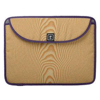White wood veined pattern sleeve for MacBooks