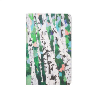 White Woodland Wondering Journal