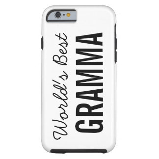 White World's Best Gramma Custom iPhone 6 Case