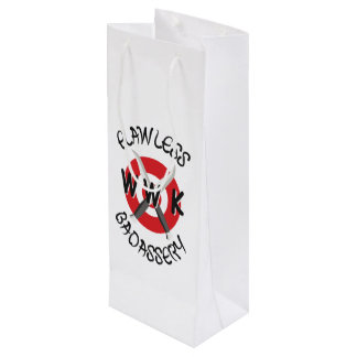 White WWK Gift Bag