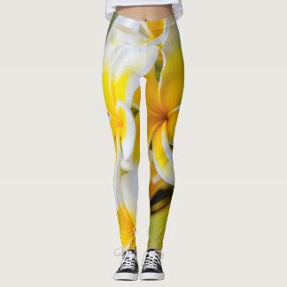 White & Yello Leggings