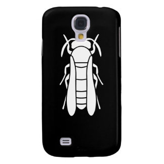 White Yellow Jacket Insect Graphic Galaxy S4 Cases