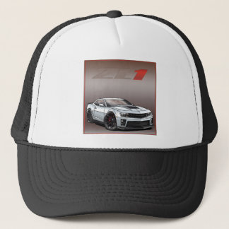 White_ZL1 Trucker Hat