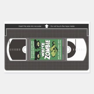 White Zombie VHS Sticker