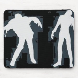 White Zombies Mouse Pad