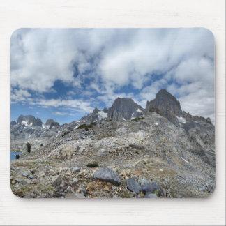 Whitebark Pass to Garnet Lake - Sierra Mouse Pad
