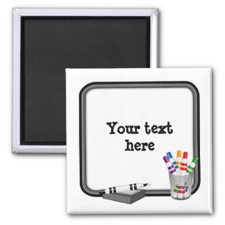 Whiteboard, Customize your text Magnet