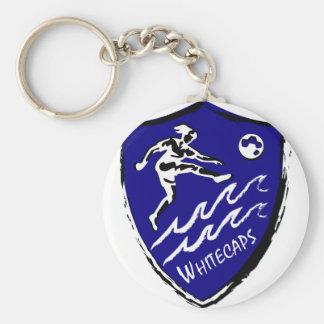 Whitecaps Women's Soccer team Basic Round Button Keychain