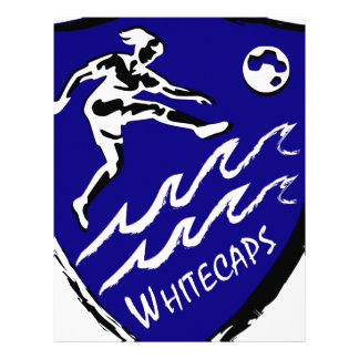 Whitecaps Women's Soccer team Letterhead