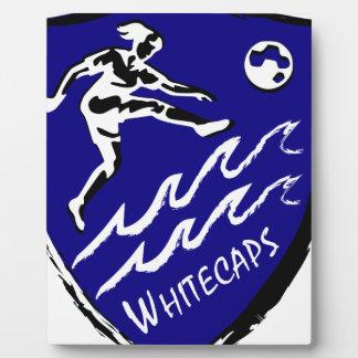 Whitecaps Women's Soccer team Plaque
