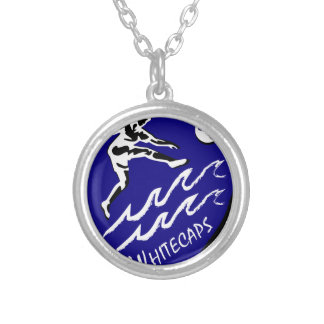 Whitecaps Women's Soccer team Silver Plated Necklace