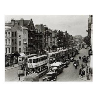 Whitechapel High Street, London, c.1930 Postcard
