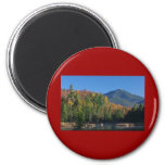 Whiteface Mountain over Little Cherrypatch Pond Refrigerator Magnets
