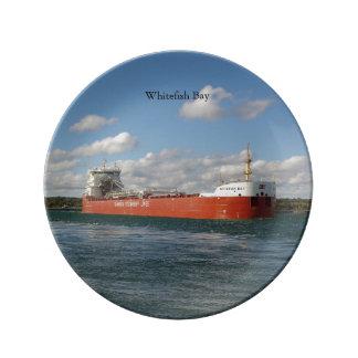 Whitefish Bay decorative plate