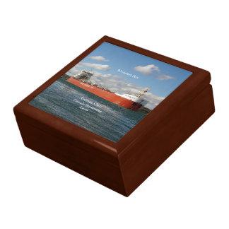 Whitefish Bay keepsake box