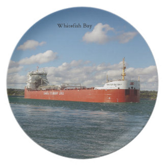Whitefish Bay plate