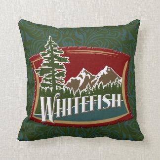 Whitefish Montana Pillow