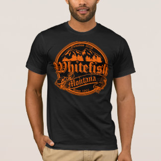 Whitefish Old Canterbury Invert Orange T-Shirt