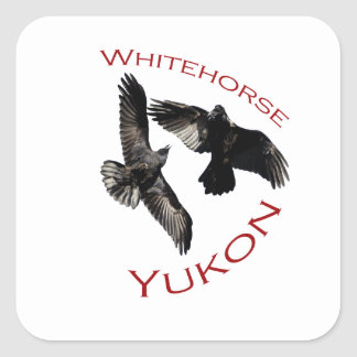 Whitehorse, Yukon Square Sticker