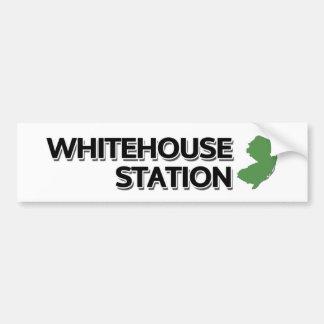 Whitehouse Station, New Jersey Bumper Sticker