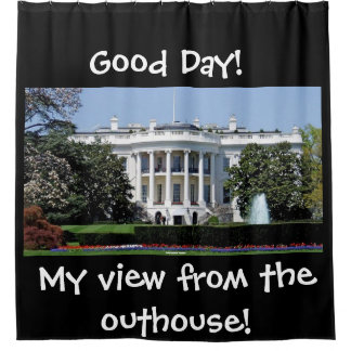 WHITEHOUSE VIEW FROM THE OUTHOUSE
